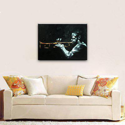 YHHP Saxophone Man Canvas Oil PaintingOil Paintings<br>YHHP Saxophone Man Canvas Oil Painting<br><br>Brand: YHHP<br>Craft: Oil Painting<br>Form: One Panel<br>Material: Canvas<br>Package Contents: 1 x Painting<br>Package size (L x W x H): 72.00 x 5.00 x 5.00 cm / 28.35 x 1.97 x 1.97 inches<br>Package weight: 0.3500 kg<br>Painting: Without Inner Frame<br>Product size (L x W x H): 90.00 x 60.00 x 1.00 cm / 35.43 x 23.62 x 0.39 inches<br>Product weight: 0.2500 kg<br>Shape: Horizontal<br>Style: Modern<br>Subjects: Figure Painting<br>Suitable Space: Bedroom,Dining Room,Living Room
