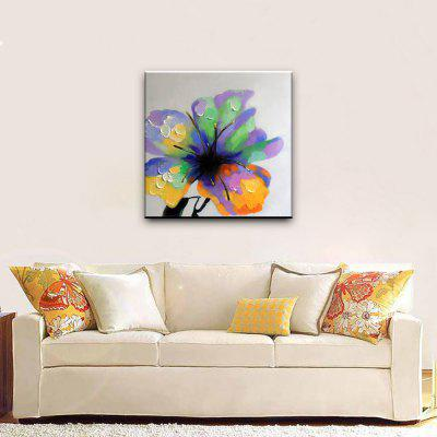 YHHP Hand Painted Flowering Plant Oil PaintingOil Paintings<br>YHHP Hand Painted Flowering Plant Oil Painting<br><br>Brand: YHHP<br>Craft: Oil Painting<br>Form: One Panel<br>Material: Canvas<br>Package Contents: 1 x Painting<br>Package size (L x W x H): 72.00 x 4.00 x 4.00 cm / 28.35 x 1.57 x 1.57 inches<br>Package weight: 0.2200 kg<br>Painting: Without Inner Frame<br>Product size (L x W x H): 60.00 x 60.00 x 1.00 cm / 23.62 x 23.62 x 0.39 inches<br>Product weight: 0.1500 kg<br>Shape: Square<br>Style: Flower<br>Subjects: Botanical<br>Suitable Space: Bedroom,Hotel,Living Room