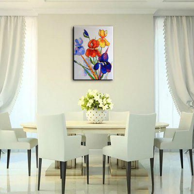 YHHP Hand Painted Flower Canvas Oil PaintingOil Paintings<br>YHHP Hand Painted Flower Canvas Oil Painting<br><br>Brand: YHHP<br>Craft: Oil Painting<br>Form: One Panel<br>Material: Canvas<br>Package Contents: 1 x Painting<br>Package size (L x W x H): 62.00 x 4.00 x 4.00 cm / 24.41 x 1.57 x 1.57 inches<br>Package weight: 0.2200 kg<br>Painting: Without Inner Frame<br>Product size (L x W x H): 60.00 x 50.00 x 1.00 cm / 23.62 x 19.69 x 0.39 inches<br>Product weight: 0.1500 kg<br>Shape: Vertical<br>Style: Flower<br>Subjects: Botanical<br>Suitable Space: Bedroom,Hotel,Living Room,Office