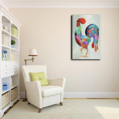 YHHP Hand Painted Cock Canvas Oil PaintingOil Paintings<br>YHHP Hand Painted Cock Canvas Oil Painting<br><br>Brand: YHHP<br>Craft: Oil Painting<br>Form: One Panel<br>Material: Canvas<br>Package Contents: 1 x Painting<br>Package size (L x W x H): 72.00 x 5.00 x 5.00 cm / 28.35 x 1.97 x 1.97 inches<br>Package weight: 0.3200 kg<br>Painting: Without Inner Frame<br>Product size (L x W x H): 60.00 x 90.00 x 1.00 cm / 23.62 x 35.43 x 0.39 inches<br>Product weight: 0.2500 kg<br>Shape: Vertical<br>Style: Animal<br>Subjects: Animal<br>Suitable Space: Bedroom,Hotel,Living Room