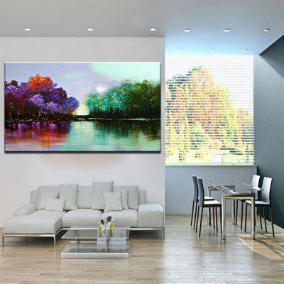 Mintura Forest Abstract Style Hand Painted Home DecorOil Paintings<br>Mintura Forest Abstract Style Hand Painted Home Decor<br><br>Brand: Mintura<br>Craft: Oil Painting<br>Form: One Panel<br>Material: Canvas<br>Package Contents: 1 x Painting<br>Package size (L x W x H): 72.00 x 6.00 x 6.00 cm / 28.35 x 2.36 x 2.36 inches<br>Package weight: 0.8000 kg<br>Painting: Without Inner Frame<br>Product size (L x W x H): 60.00 x 120.00 x 0.10 cm / 23.62 x 47.24 x 0.04 inches<br>Product weight: 0.7000 kg<br>Shape: Horizontal<br>Style: Modern<br>Subjects: Landscape<br>Suitable Space: Bedroom,Dining Room,Hotel,Living Room