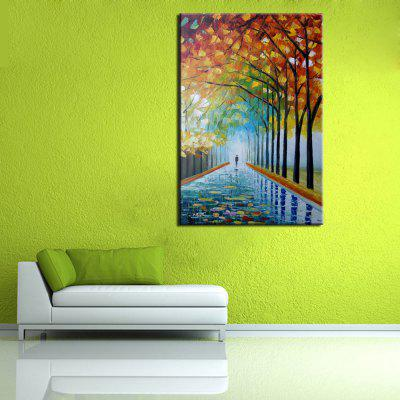 Mintura Hand Painted Forest Trail Oil PaintingOil Paintings<br>Mintura Hand Painted Forest Trail Oil Painting<br><br>Brand: Mintura<br>Craft: Oil Painting<br>Form: One Panel<br>Material: Canvas<br>Package Contents: 1 x Painting<br>Package size (L x W x H): 72.00 x 6.00 x 6.00 cm / 28.35 x 2.36 x 2.36 inches<br>Package weight: 0.6000 kg<br>Painting: Without Inner Frame<br>Product size (L x W x H): 60.00 x 90.00 x 0.10 cm / 23.62 x 35.43 x 0.04 inches<br>Product weight: 0.5000 kg<br>Shape: Vertical<br>Style: Landscape<br>Subjects: Landscape<br>Suitable Space: Bedroom,Hallway,Hotel,Living Room