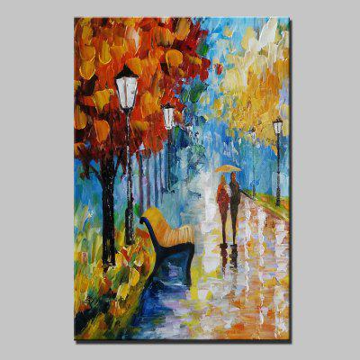 Mintura MT160082 Colorful Abstract Canvas Oil Painting