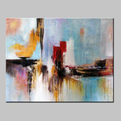Mintura MT160050 Colorful Abstract Canvas Oil Painting