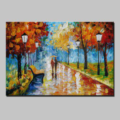 Mintura MT160080 Colorful Abstract Canvas Oil Painting
