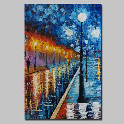 Mintura MT160081 Colorful Abstract Canvas Oil Painting