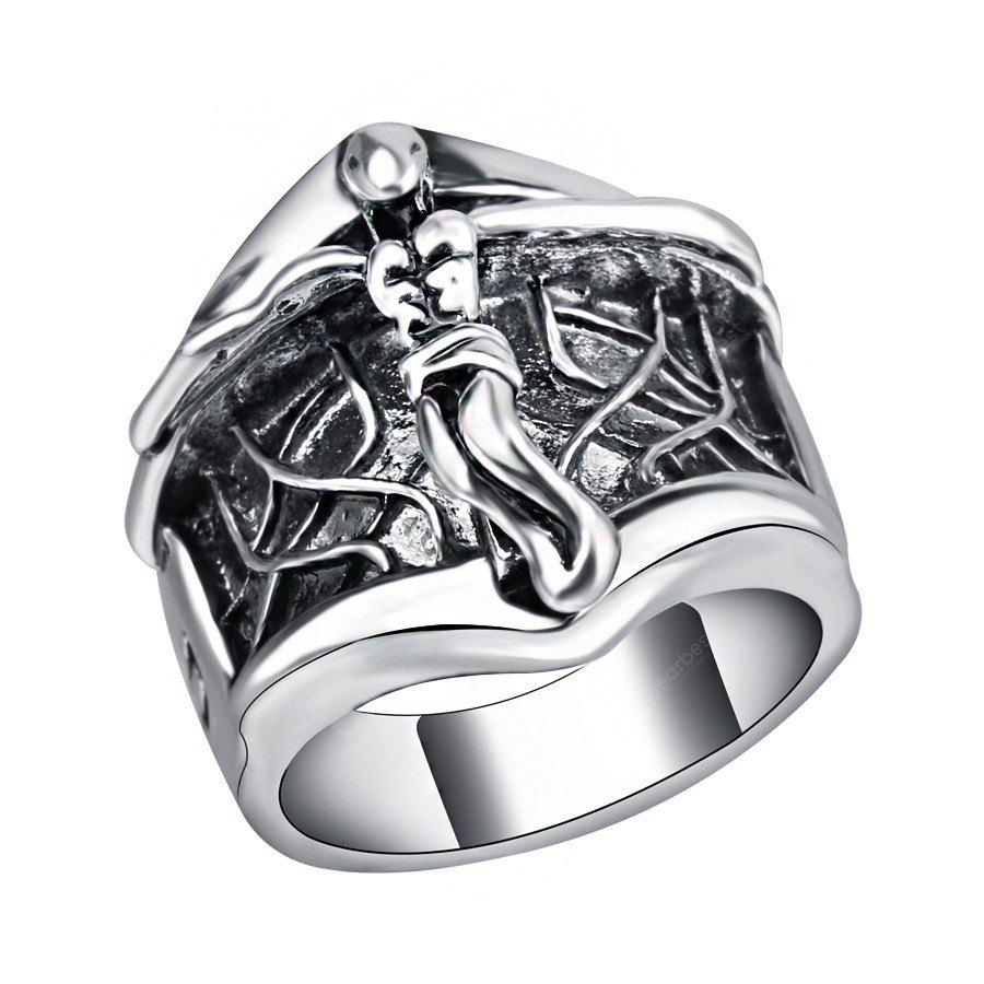 Ailes D'ange Design Retro Ring