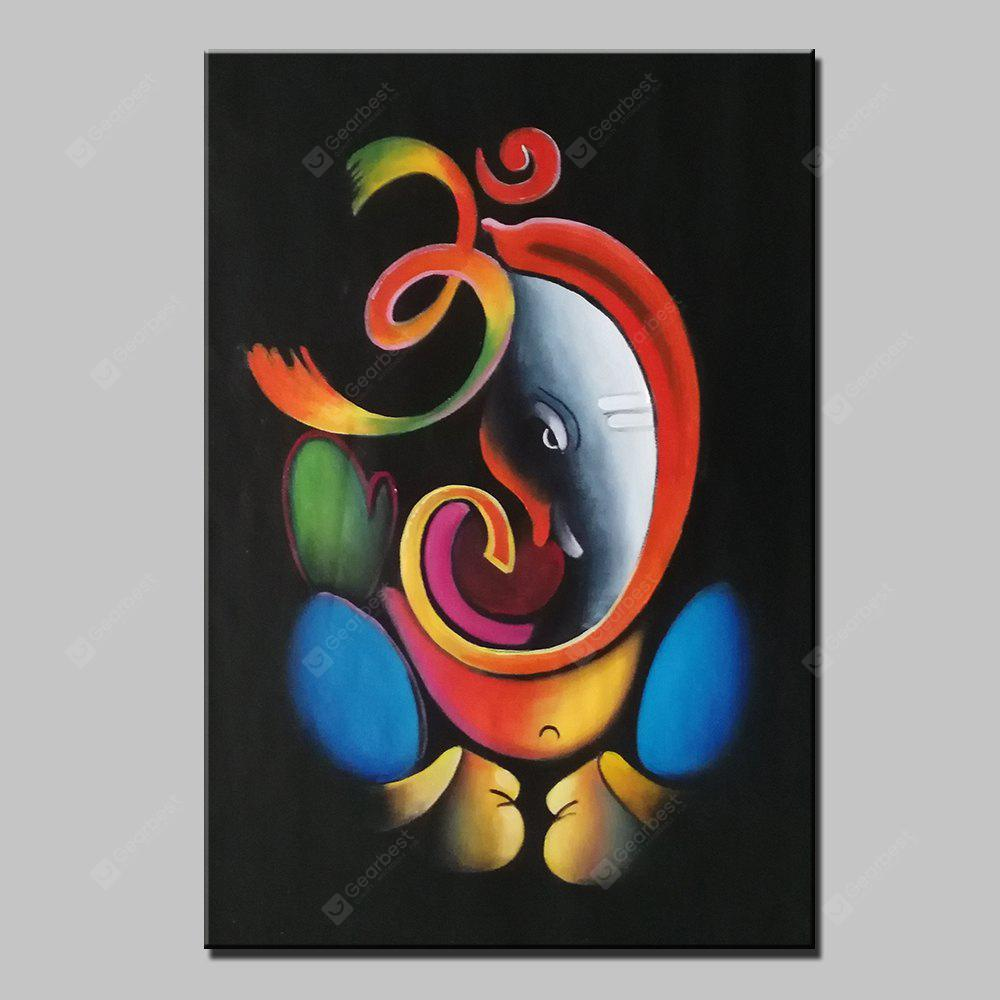 Mintura MT160084 Colorful Abstract Canvas Oil Painting