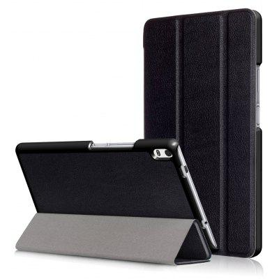PU Tablet Case Folding Stand Function for Lenovo Tab 4 8 Plus