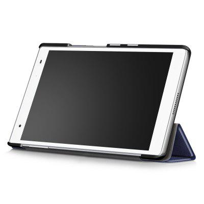 PU Tablet Case Folding Stand Function for Lenovo Tab 4 8 PlusTablet Accessories<br>PU Tablet Case Folding Stand Function for Lenovo Tab 4 8 Plus<br><br>Accessory type: Tablet Protective Case<br>Compatible models: For Lenovo<br>Features: Full Body Cases<br>For: Tablet PC<br>Material: PU Leather<br>Package Contents: 1 x Protective Case<br>Package size (L x W x H): 23.00 x 14.00 x 2.50 cm / 9.06 x 5.51 x 0.98 inches<br>Package weight: 0.1720 kg<br>Product size (L x W x H): 21.60 x 12.90 x 1.50 cm / 8.5 x 5.08 x 0.59 inches<br>Product weight: 0.1400 kg