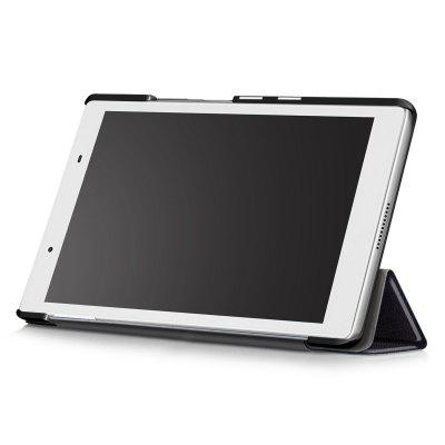 PU Tablet Case Tri-foldable Stand Function for Lenovo Tab 4 8Tablet Accessories<br>PU Tablet Case Tri-foldable Stand Function for Lenovo Tab 4 8<br><br>Accessory type: Tablet Protective Case<br>Compatible models: For Lenovo<br>Features: Full Body Cases<br>For: Tablet PC<br>Material: PU Leather<br>Package Contents: 1 x Protective Case<br>Package size (L x W x H): 22.50 x 14.00 x 2.50 cm / 8.86 x 5.51 x 0.98 inches<br>Package weight: 0.1720 kg<br>Product size (L x W x H): 21.50 x 12.90 x 1.50 cm / 8.46 x 5.08 x 0.59 inches<br>Product weight: 0.1400 kg