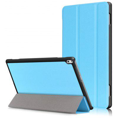 PU Tablet Case Folding Stand Function for Lenovo Tab 4 10 Plus