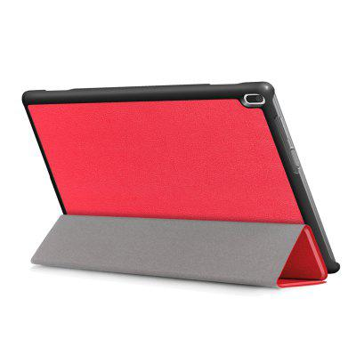 PU Tablet Case Tri-foldable Stand Function for Lenovo Tab 4 10Tablet Accessories<br>PU Tablet Case Tri-foldable Stand Function for Lenovo Tab 4 10<br><br>Accessory type: Tablet Leather Case<br>Compatible models: For Lenovo<br>Features: Full Body Cases<br>For: Tablet PC<br>Material: PU Leather<br>Package Contents: 1 x Protective Case<br>Package size (L x W x H): 26.20 x 19.00 x 2.50 cm / 10.31 x 7.48 x 0.98 inches<br>Package weight: 0.2770 kg<br>Product size (L x W x H): 25.20 x 17.90 x 1.50 cm / 9.92 x 7.05 x 0.59 inches<br>Product weight: 0.2450 kg
