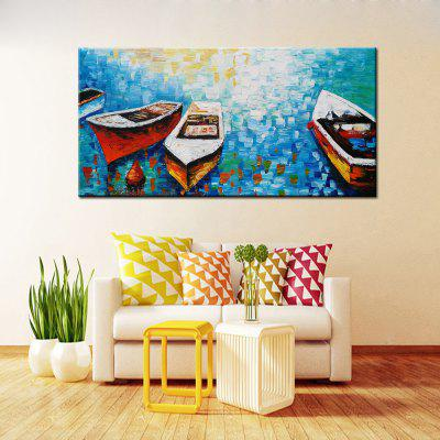 Abstract Colorful Boat Canvas Oil Painting Modern ArtOil Paintings<br>Abstract Colorful Boat Canvas Oil Painting Modern Art<br><br>Craft: Oil Painting<br>Form: One Panel<br>Material: Canvas<br>Package size (L x W x H): 72.00 x 6.00 x 6.00 cm / 28.35 x 2.36 x 2.36 inches<br>Package weight: 0.8200 kg<br>Painting: Without Inner Frame<br>Product size (L x W x H): 120.00 x 60.00 x 1.00 cm / 47.24 x 23.62 x 0.39 inches<br>Product weight: 0.7000 kg<br>Shape: Horizontal<br>Style: Abstract<br>Subjects: Abstract<br>Suitable Space: Bedroom,Dining Room,Hotel,Living Room,Office,Outdoor