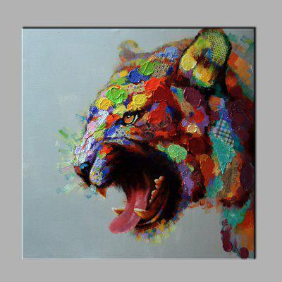 YHHP Hand Painted Tiger Oil Painting