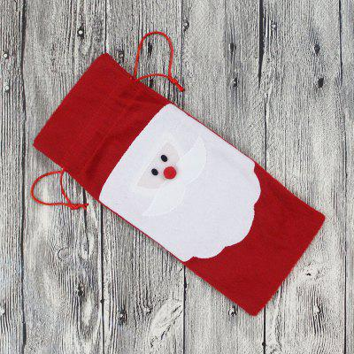 MCYH 277 Christmas Decoration Wine BagChristmas Supplies<br>MCYH 277 Christmas Decoration Wine Bag<br><br>Brand: MCYH<br>Color: Red<br>Material: Nonwoven<br>Package Contents: 1 x Wine Bag<br>Package Quantity: 1<br>Package size (L x W x H): 32.00 x 13.00 x 3.00 cm / 12.6 x 5.12 x 1.18 inches<br>Package weight: 0.1100 kg<br>Product size (L x W x H): 31.00 x 12.00 x 2.00 cm / 12.2 x 4.72 x 0.79 inches<br>Product weight: 0.1000 kg<br>Usage: Christmas