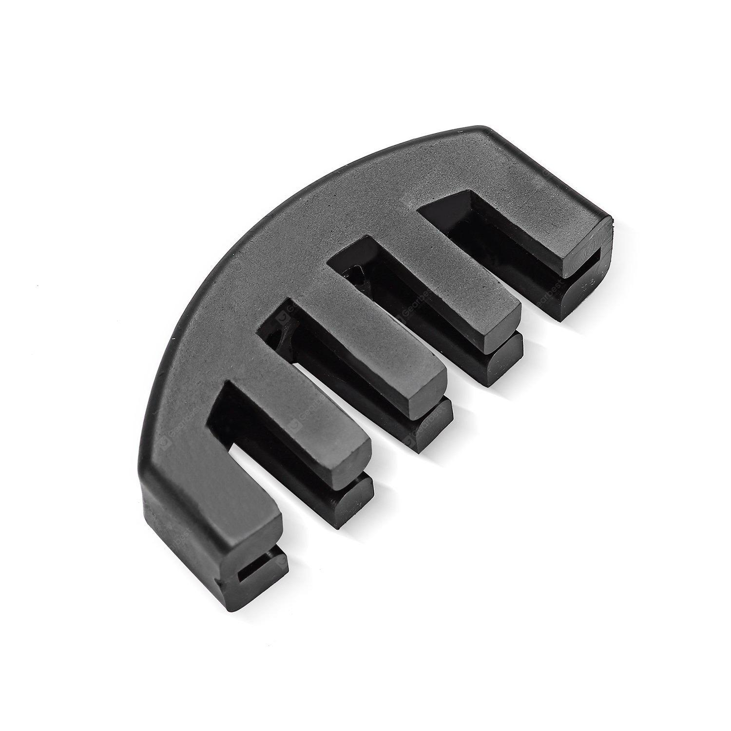Mute with 5 Prongs for 4/4 and 3/4 Violin - BLACK