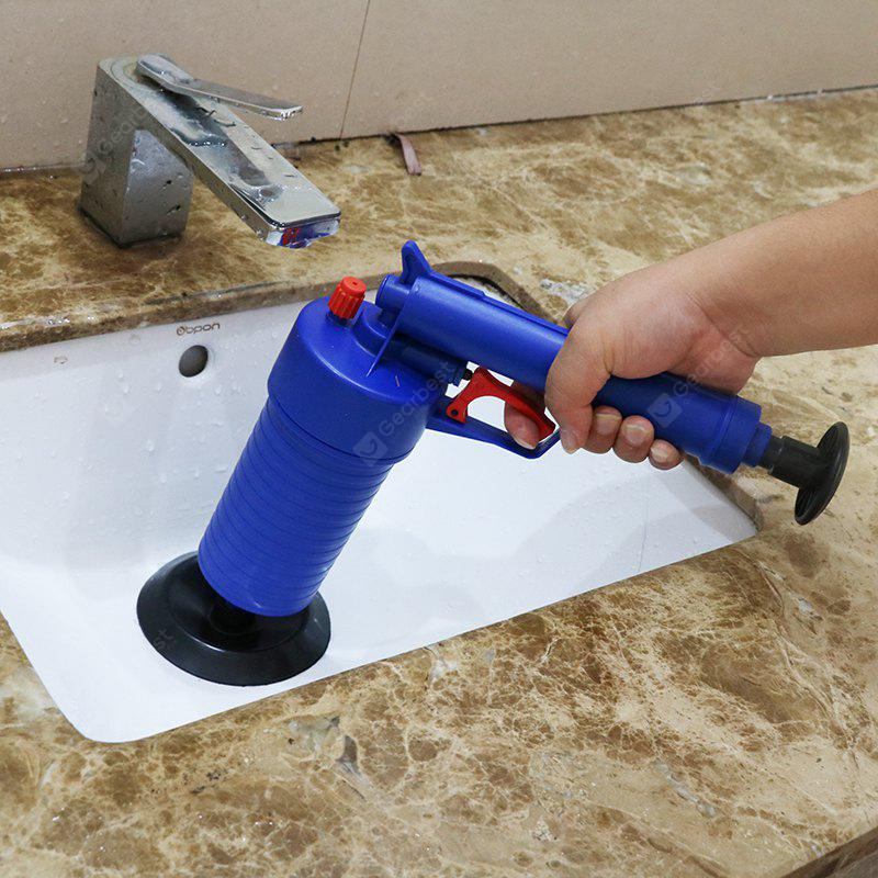 Toilets High Pressure Air Drain Blaster Cleaner with 4 Adaptors