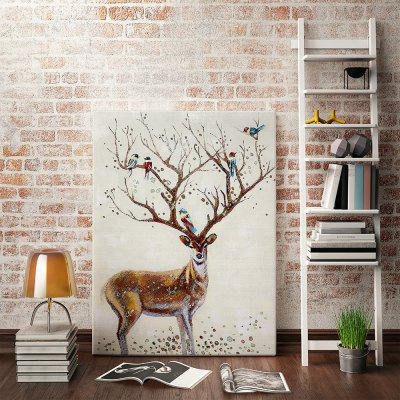Modern Art Elk Wall Decor Print for Home Decoration