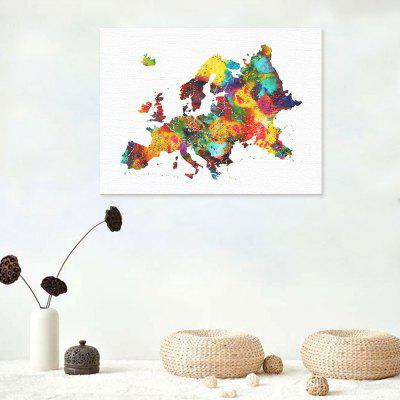 Modern Art Map of Europe Wall Decor PrintPrints<br>Modern Art Map of Europe Wall Decor Print<br><br>Craft: Print<br>Form: One Panel<br>Material: Canvas<br>Package size (L x W x H): 32.00 x 6.00 x 6.00 cm / 12.6 x 2.36 x 2.36 inches<br>Package weight: 0.0700 kg<br>Painting: Without Inner Frame<br>Product size (L x W x H): 40.00 x 30.00 x 0.10 cm / 15.75 x 11.81 x 0.04 inches<br>Product weight: 0.0400 kg<br>Shape: Horizontal<br>Style: Modern<br>Subjects: Abstract<br>Suitable Space: Bedroom,Dining Room,Hotel,Living Room