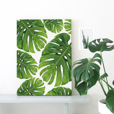 Canvas Modern Art Greenery Wall Decor PrintPrints<br>Canvas Modern Art Greenery Wall Decor Print<br><br>Craft: Print<br>Form: One Panel<br>Material: Canvas<br>Package size (L x W x H): 32.00 x 6.00 x 6.00 cm / 12.6 x 2.36 x 2.36 inches<br>Package weight: 0.0700 kg<br>Painting: Without Inner Frame<br>Product size (L x W x H): 30.00 x 40.00 x 0.10 cm / 11.81 x 15.75 x 0.04 inches<br>Product weight: 0.0400 kg<br>Shape: Horizontal<br>Style: Modern<br>Subjects: Botanical<br>Suitable Space: Bedroom,Dining Room,Hotel,Living Room