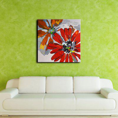 YHHP Colorful Flower Canvas Oil PaintingOil Paintings<br>YHHP Colorful Flower Canvas Oil Painting<br><br>Brand: YHHP<br>Craft: Oil Painting<br>Form: One Panel<br>Material: Canvas<br>Package Contents: 1 x Painting<br>Package size (L x W x H): 72.00 x 4.00 x 4.00 cm / 28.35 x 1.57 x 1.57 inches<br>Package weight: 0.2500 kg<br>Painting: Without Inner Frame<br>Product size (L x W x H): 60.00 x 60.00 x 1.00 cm / 23.62 x 23.62 x 0.39 inches<br>Product weight: 0.1500 kg<br>Shape: Square<br>Style: Modern<br>Subjects: Flower<br>Suitable Space: Bedroom,Dining Room,Hotel,Living Room