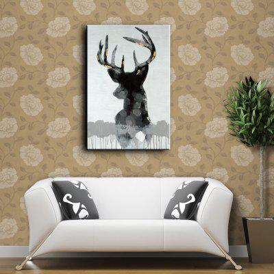 YHHP Hand Painted Deer Canvas Oil Painting for DecorOil Paintings<br>YHHP Hand Painted Deer Canvas Oil Painting for Decor<br><br>Brand: YHHP<br>Craft: Oil Painting<br>Form: One Panel<br>Material: Canvas<br>Package Contents: 1 x Oil Painting<br>Package size (L x W x H): 72.00 x 5.00 x 5.00 cm / 28.35 x 1.97 x 1.97 inches<br>Package weight: 0.3000 kg<br>Painting: Without Inner Frame<br>Product size (L x W x H): 90.00 x 60.00 x 1.00 cm / 35.43 x 23.62 x 0.39 inches<br>Product weight: 0.2500 kg<br>Shape: Vertical<br>Style: Animal<br>Subjects: Animal<br>Suitable Space: Bedroom,Cafes,Dining Room,Hallway,Hotel,Kids Room,Living Room