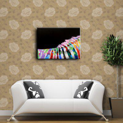 YHHP Hand Painted Colorful Abstract Canvas Oil PaintingOil Paintings<br>YHHP Hand Painted Colorful Abstract Canvas Oil Painting<br><br>Brand: YHHP<br>Craft: Oil Painting<br>Form: One Panel<br>Material: Canvas<br>Package Contents: 1 x Oil Painting<br>Package size (L x W x H): 72.00 x 5.00 x 5.00 cm / 28.35 x 1.97 x 1.97 inches<br>Package weight: 0.3000 kg<br>Painting: Without Inner Frame<br>Product size (L x W x H): 90.00 x 60.00 x 1.00 cm / 35.43 x 23.62 x 0.39 inches<br>Product weight: 0.2500 kg<br>Shape: Horizontal<br>Style: Abstract<br>Subjects: Abstract<br>Suitable Space: Bedroom,Cafes,Dining Room,Hallway,Hotel,Living Room