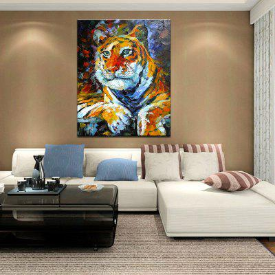 Mintura MT160170 Colorful Tiger Pattern Canvas Oil PaintingOil Paintings<br>Mintura MT160170 Colorful Tiger Pattern Canvas Oil Painting<br><br>Brand: Mintura<br>Craft: Oil Painting<br>Form: One Panel<br>Material: Canvas<br>Package Contents: 1 x Oil Painting<br>Package size (L x W x H): 81.00 x 5.00 x 5.00 cm / 31.89 x 1.97 x 1.97 inches<br>Package weight: 0.6300 kg<br>Painting: Without Inner Frame<br>Product size (L x W x H): 90.00 x 70.00 x 0.10 cm / 35.43 x 27.56 x 0.04 inches<br>Product weight: 0.5000 kg<br>Shape: Horizontal<br>Style: Animal<br>Subjects: Animal<br>Suitable Space: Bedroom,Boys Room,Cafes,Hallway,Living Room