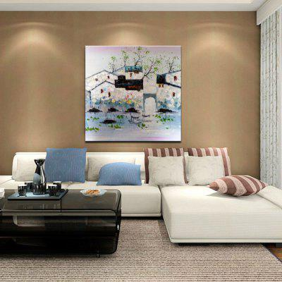 Mintura MT160119 Colorful Abstract Canvas Oil PaintingOil Paintings<br>Mintura MT160119 Colorful Abstract Canvas Oil Painting<br><br>Brand: Mintura<br>Craft: Oil Painting<br>Form: One Panel<br>Material: Canvas<br>Package Contents: 1 x Oil Painting<br>Package size (L x W x H): 71.00 x 4.00 x 4.00 cm / 27.95 x 1.57 x 1.57 inches<br>Package weight: 0.4300 kg<br>Painting: Without Inner Frame<br>Product size (L x W x H): 60.00 x 60.00 x 0.10 cm / 23.62 x 23.62 x 0.04 inches<br>Product weight: 0.3000 kg<br>Shape: Square<br>Style: Scenery / Landscape<br>Subjects: Architecture<br>Suitable Space: Bedroom,Cafes,Hallway,Hotel,Living Room,Study Room / Office