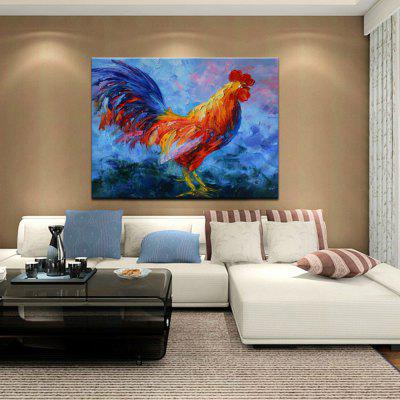 Mintura MT160155 Colorful Cock Canvas Oil PaintingOil Paintings<br>Mintura MT160155 Colorful Cock Canvas Oil Painting<br><br>Brand: Mintura<br>Craft: Oil Painting<br>Form: One Panel<br>Material: Canvas<br>Package Contents: 1 x Oil Painting<br>Package size (L x W x H): 81.00 x 5.00 x 5.00 cm / 31.89 x 1.97 x 1.97 inches<br>Package weight: 0.6300 kg<br>Painting: Without Inner Frame<br>Product size (L x W x H): 90.00 x 70.00 x 0.10 cm / 35.43 x 27.56 x 0.04 inches<br>Product weight: 0.5000 kg<br>Shape: Horizontal<br>Style: Animal<br>Subjects: Animal<br>Suitable Space: Bedroom,Cafes,Dining Room,Hallway,Kids Room,Living Room