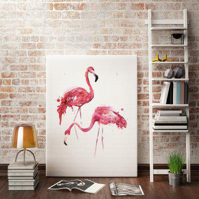 Canvas Modern Abstract Red Bird Wall Decor Home Decoration Print
