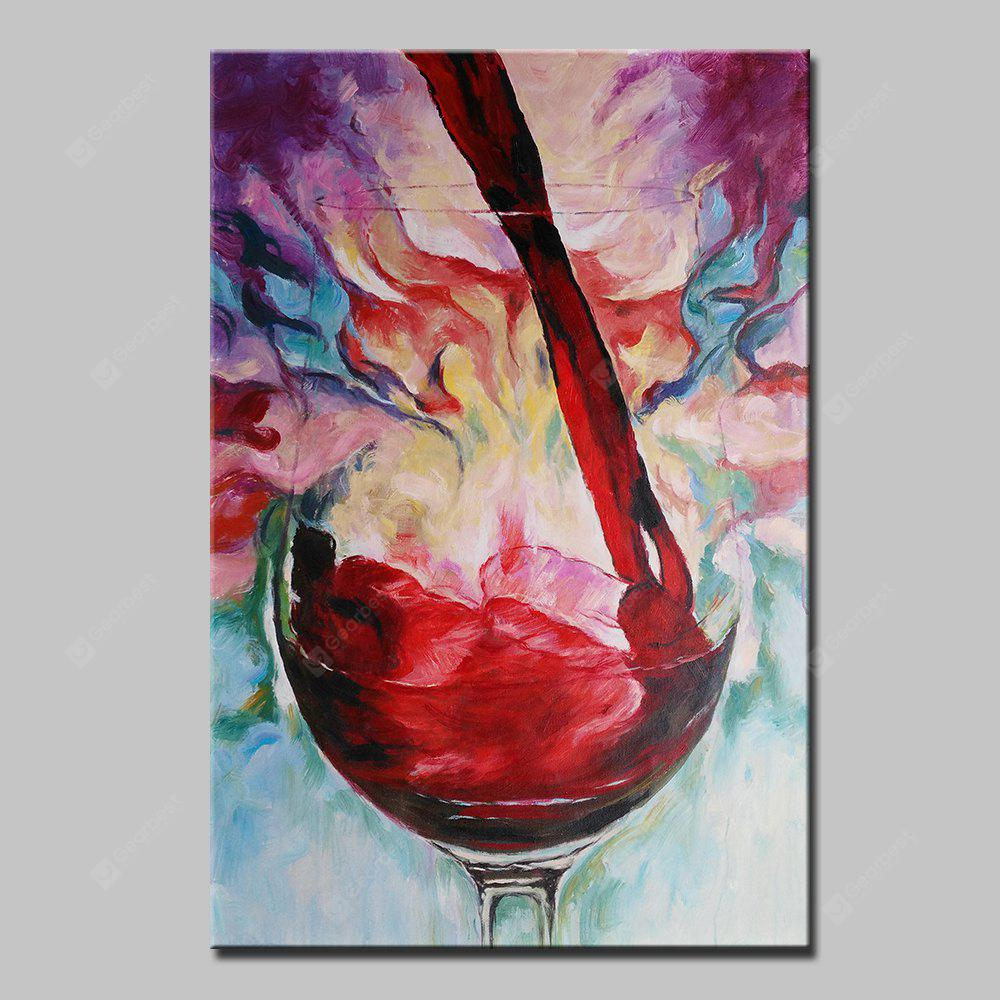 Mintura MT160122 Colorful Abstract Canvas Oil Painting