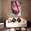 Mintura MT160122 Colorful Abstract Canvas Oil Painting - COLORMIX