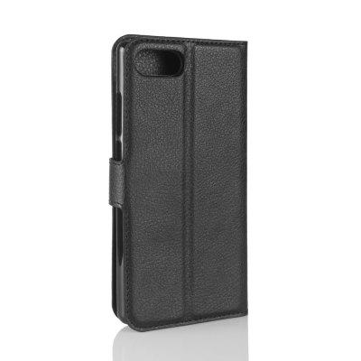 Wallet-shaped Leather Sheath for Doogee MixCases &amp; Leather<br>Wallet-shaped Leather Sheath for Doogee Mix<br><br>Color: Black<br>Features: Full Body Cases<br>Material: PU Leather<br>Package Contents: 1 x Lichee Pattern Cover Case<br>Package size (L x W x H): 16.20 x 8.00 x 2.00 cm / 6.38 x 3.15 x 0.79 inches<br>Package weight: 0.0900 kg<br>Product Size(L x W x H): 15.70 x 7.60 x 1.60 cm / 6.18 x 2.99 x 0.63 inches<br>Product weight: 0.0620 kg<br>Style: Cool
