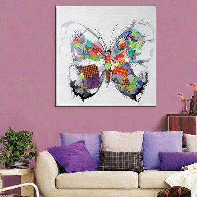 Mintura Butterfly Canvas Oil PaintingOil Paintings<br>Mintura Butterfly Canvas Oil Painting<br><br>Brand: Mintura<br>Craft: Oil Painting<br>Form: One Panel<br>Material: Canvas<br>Package Contents: 1 x Painting<br>Package size (L x W x H): 86.00 x 5.00 x 5.00 cm / 33.86 x 1.97 x 1.97 inches<br>Package weight: 0.5800 kg<br>Painting: Without Inner Frame<br>Product size (L x W x H): 75.00 x 75.00 x 0.10 cm / 29.53 x 29.53 x 0.04 inches<br>Product weight: 0.5000 kg<br>Shape: Square<br>Style: Modern<br>Subjects: Animal<br>Suitable Space: Bedroom,Dining Room,Hotel,Living Room