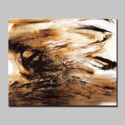Mintura Hand Painted Modern Abstract Style Canvas Unframed Oil Painting