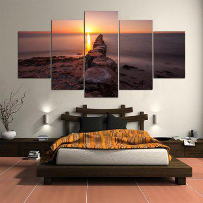 5PCS YSDAFEN Printed Sunset Painting Canvas PrintPrints<br>5PCS YSDAFEN Printed Sunset Painting Canvas Print<br><br>Brand: YSDAFEN<br>Craft: Print<br>Form: Five Panels<br>Material: Canvas<br>Package Contents: 5 x Print<br>Package size (L x W x H): 82.00 x 32.00 x 52.00 cm / 32.28 x 12.6 x 20.47 inches<br>Package weight: 1.5000 kg<br>Painting: Include Inner Frame<br>Product weight: 1.2000 kg<br>Shape: Horizontal Panoramic<br>Style: Modern<br>Subjects: Landscape<br>Suitable Space: Bedroom,Dining Room,Hotel,Living Room