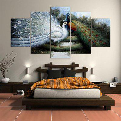 5PCS YSDAFEN Printed Peacock Painting Canvas PrintPrints<br>5PCS YSDAFEN Printed Peacock Painting Canvas Print<br><br>Brand: YSDAFEN<br>Craft: Print<br>Form: Five Panels<br>Material: Canvas<br>Package Contents: 5 x Print<br>Package size (L x W x H): 82.00 x 32.00 x 52.00 cm / 32.28 x 12.6 x 20.47 inches<br>Package weight: 1.5000 kg<br>Painting: Include Inner Frame<br>Product weight: 1.2000 kg<br>Shape: Horizontal Panoramic<br>Style: Animal<br>Subjects: Animal<br>Suitable Space: Bedroom,Dining Room,Hotel,Living Room