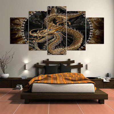 5PCS YSDAFEN Printed Dragon Painting Canvas PrintPrints<br>5PCS YSDAFEN Printed Dragon Painting Canvas Print<br><br>Brand: YSDAFEN<br>Craft: Print<br>Form: Five Panels<br>Material: Canvas<br>Package Contents: 5 x Print<br>Package size (L x W x H): 82.00 x 32.00 x 52.00 cm / 32.28 x 12.6 x 20.47 inches<br>Package weight: 1.5000 kg<br>Painting: Include Inner Frame<br>Product weight: 1.2000 kg<br>Shape: Horizontal Panoramic<br>Style: Modern<br>Subjects: Animal<br>Suitable Space: Bedroom,Hotel,Living Room