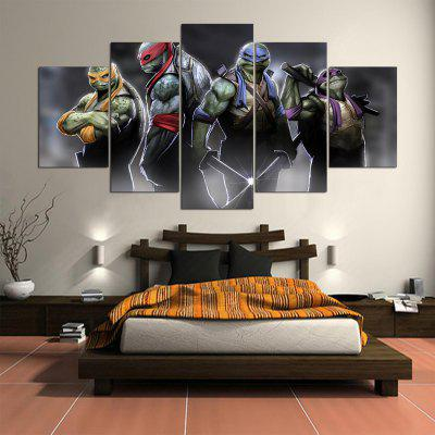 5PCS YSDAFEN Cartoon Painting Canvas PrintPrints<br>5PCS YSDAFEN Cartoon Painting Canvas Print<br><br>Brand: YSDAFEN<br>Craft: Print<br>Form: Five Panels<br>Material: Canvas<br>Package Contents: 5 x Print<br>Package size (L x W x H): 82.00 x 32.00 x 52.00 cm / 32.28 x 12.6 x 20.47 inches<br>Package weight: 1.5000 kg<br>Painting: Include Inner Frame<br>Product weight: 1.2000 kg<br>Shape: Horizontal Panoramic<br>Style: Cartoon<br>Subjects: Cartoon<br>Suitable Space: Bedroom,Dining Room,Hotel,Living Room