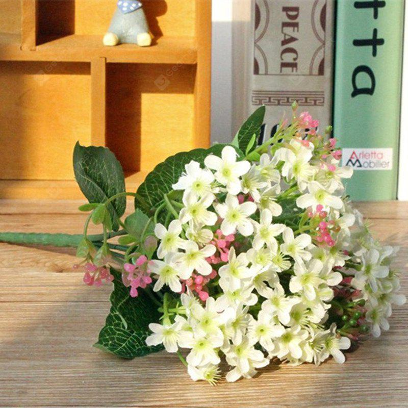 Buy Colorful Silk Home Decoration Artificial Baby Breath Flower WHITE