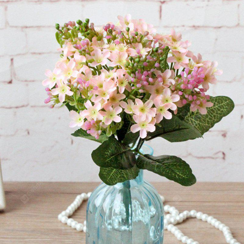 Buy Colorful Silk Home Decoration Artificial Baby Breath Flower LIGHT PINK