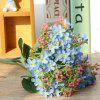 Colorful Silk Home Decoration Artificial Baby Breath Flower - BLUE