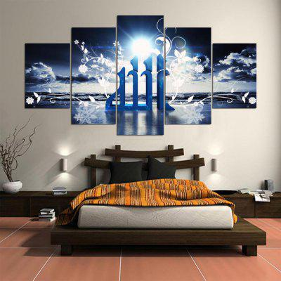 5PCS YSDAFEN Printed Ray Painting CanvasPrints<br>5PCS YSDAFEN Printed Ray Painting Canvas<br><br>Brand: YSDAFEN<br>Craft: Print<br>Form: Five Panels<br>Material: Canvas<br>Package Contents: 5 x Print<br>Package size (L x W x H): 82.00 x 32.00 x 52.00 cm / 32.28 x 12.6 x 20.47 inches<br>Package weight: 1.5000 kg<br>Painting: Include Inner Frame<br>Product weight: 1.2000 kg<br>Shape: Horizontal Panoramic<br>Style: Modern<br>Subjects: Landscape<br>Suitable Space: Bedroom,Dining Room,Hotel,Living Room