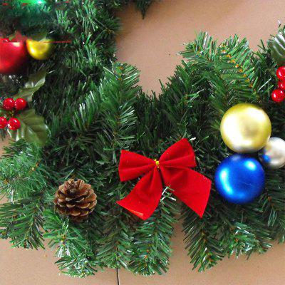 MCYH 427 2.7m Christmas Decoration RattanChristmas Supplies<br>MCYH 427 2.7m Christmas Decoration Rattan<br><br>Brand: MCYH<br>Material: Plastic<br>Package Contents: 1 x Rattan<br>Package size (L x W x H): 60.00 x 35.00 x 25.00 cm / 23.62 x 13.78 x 9.84 inches<br>Package weight: 1.4000 kg<br>Product size (L x W x H): 270.00 x 30.00 x 30.00 cm / 106.3 x 11.81 x 11.81 inches<br>Product weight: 1.2500 kg<br>Usage: Christmas