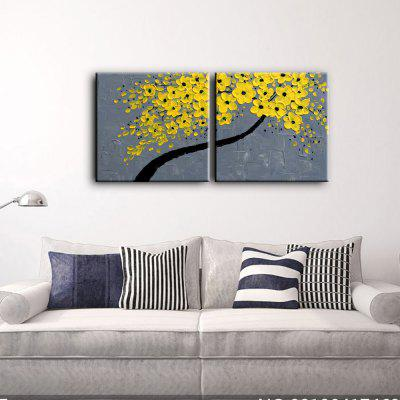 2PCS YHHP Yellow Flowers Modern Canvas Oil PaintingOil Paintings<br>2PCS YHHP Yellow Flowers Modern Canvas Oil Painting<br><br>Brand: YHHP<br>Craft: Oil Painting<br>Form: Two Panels<br>Material: Canvas<br>Package Contents: 1 x Painting<br>Package size (L x W x H): 62.00 x 62.00 x 10.00 cm / 24.41 x 24.41 x 3.94 inches<br>Package weight: 1.8000 kg<br>Painting: Include Inner Frame<br>Product size (L x W x H): 60.00 x 60.00 x 8.00 cm / 23.62 x 23.62 x 3.15 inches<br>Product weight: 1.3000 kg<br>Shape: Square<br>Style: Modern<br>Subjects: Flower<br>Suitable Space: Bedroom,Dining Room,Hotel,Living Room