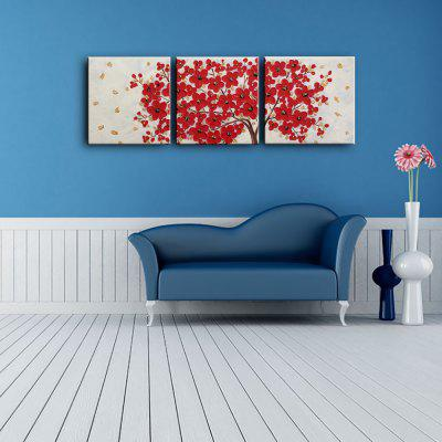 3PCS YHHP Red Flowers Modern Canvas Oil PaintingOil Paintings<br>3PCS YHHP Red Flowers Modern Canvas Oil Painting<br><br>Brand: YHHP<br>Craft: Oil Painting<br>Form: Three Panels<br>Material: Canvas<br>Package Contents: 3 x Painting<br>Package size (L x W x H): 52.00 x 52.00 x 35.00 cm / 20.47 x 20.47 x 13.78 inches<br>Package weight: 2.1000 kg<br>Painting: Include Inner Frame<br>Product size (L x W x H): 50.00 x 50.00 x 12.00 cm / 19.69 x 19.69 x 4.72 inches<br>Product weight: 1.7000 kg<br>Shape: Square<br>Style: Modern<br>Subjects: Flower<br>Suitable Space: Bedroom,Dining Room,Hotel,Living Room