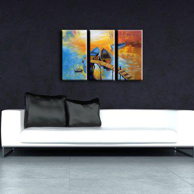 3PCS YHHP Colorful Landscape Modern Canvas Oil PaintingOil Paintings<br>3PCS YHHP Colorful Landscape Modern Canvas Oil Painting<br><br>Brand: YHHP<br>Craft: Oil Painting<br>Form: Three Panels<br>Material: Canvas<br>Package Contents: 3 x Painting<br>Package size (L x W x H): 82.00 x 42.00 x 15.00 cm / 32.28 x 16.54 x 5.91 inches<br>Package weight: 2.5000 kg<br>Painting: Include Inner Frame<br>Product size (L x W x H): 80.00 x 40.00 x 12.00 cm / 31.5 x 15.75 x 4.72 inches<br>Product weight: 2.0000 kg<br>Shape: Horizontal Panoramic<br>Style: Modern<br>Subjects: Landscape<br>Suitable Space: Bedroom,Dining Room,Hotel,Living Room
