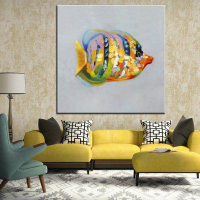 Mintura Hand Painted Colorful Fish Oil PaintingOil Paintings<br>Mintura Hand Painted Colorful Fish Oil Painting<br><br>Brand: Mintura<br>Craft: Oil Painting<br>Form: One Panel<br>Material: Canvas<br>Package Contents: 1 x Painting<br>Package size (L x W x H): 86.00 x 5.00 x 5.00 cm / 33.86 x 1.97 x 1.97 inches<br>Package weight: 0.5500 kg<br>Painting: Without Inner Frame<br>Product size (L x W x H): 75.00 x 75.00 x 0.10 cm / 29.53 x 29.53 x 0.04 inches<br>Product weight: 0.5000 kg<br>Shape: Square<br>Style: Animal<br>Subjects: Animal<br>Suitable Space: Bedroom,Hallway,Hotel,Living Room